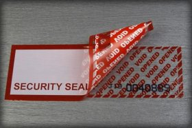 Security labels & tape